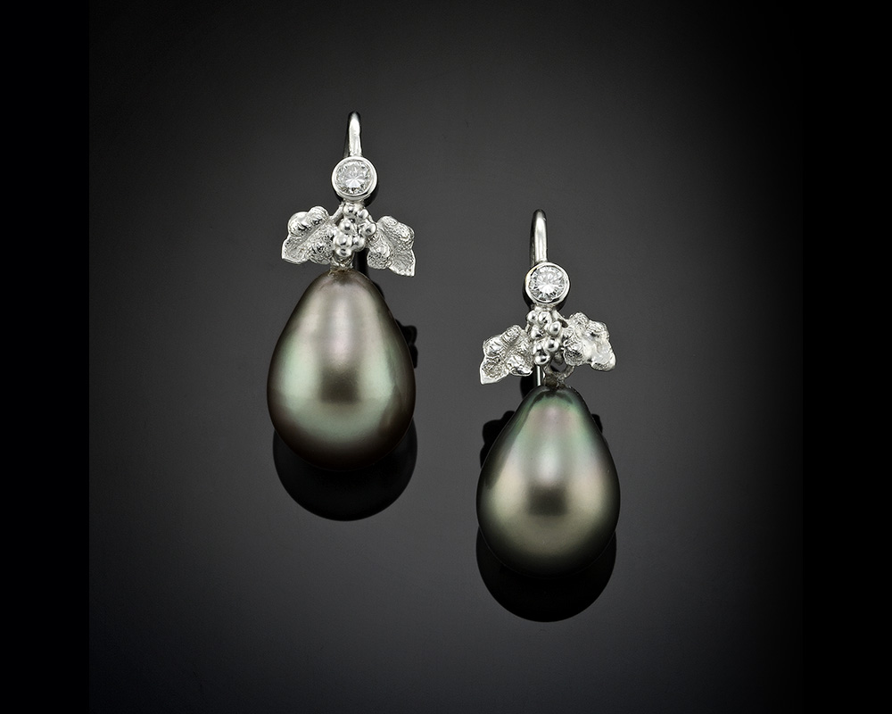 Tahitian Black Pearl Drop