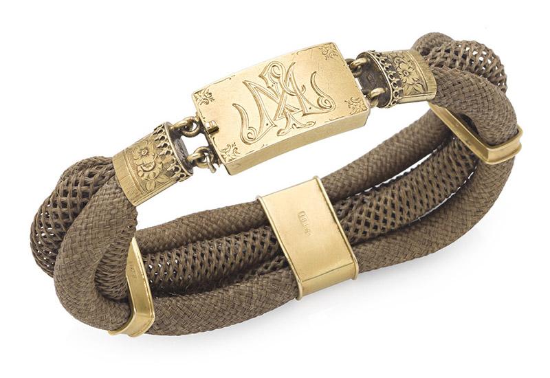 Antique 18ct gold Australian bracelet Circa 1880 by Henry Steiner of Adelaide
