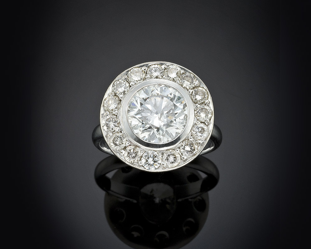 Large Diamond Ring